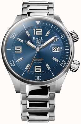Ball Watch Company Cronometro subacqueo quadrante blu a raggi di sole DM2280A-S2C-BE
