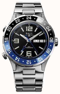 Ball Watch Company Roadmaster marine gmt ceramica blu e nero DG3030B-S1CJ-BK