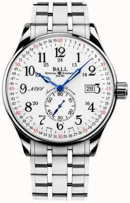 Ball Watch Company Standard della ferrovia 130 anni capotreno NM3888D-S3CJ-WH