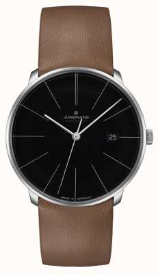 Junghans Cinturino in pelle automatico Meister fein 27/4154.00