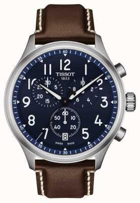Tissot Orologio crono xl vintage quadrante blu T1166171604200