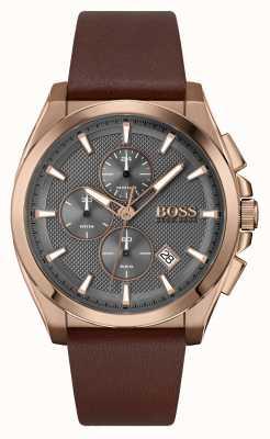 BOSS Grandmaster sport lux | cinturino in pelle marrone 1513882