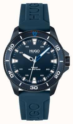 HUGO # streetdiver casual blu blu 1530223