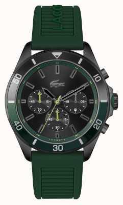 Lacoste Orologio tiebreaker in silicone verde 2011153