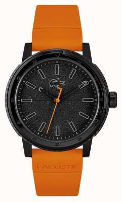 Lacoste Cinturino in silicone arancione Challenger 2011095