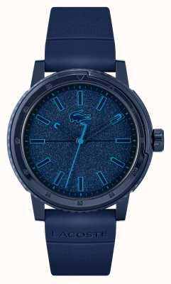 Lacoste Cinturino in silicone blu Challenger 2011083