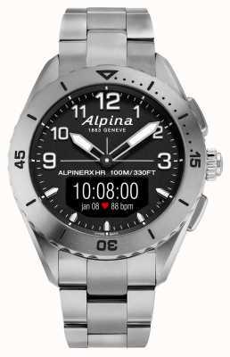 Alpina | alpinerx vivo | smartwatch in titanio | AL-284LBBW5TAQ1B