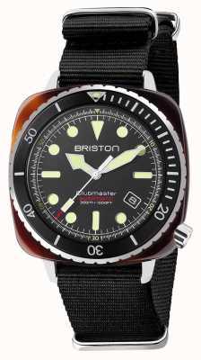 Briston Cinturino nato diver pro acetato nero 21644.SA.T.1.NB