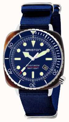 Briston Cinturino Diver pro acetato navy nato 21644.SA.T.15.NNB