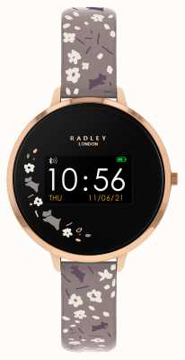 Radley Smart watch serie 3 cinturino floreale grigio RYS03-2016