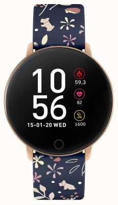Radley Smart watch serie 5 cinturino floreale blu RYS05-2046