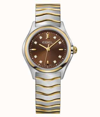 EBEL Orologio da donna Wave con diamanti bicolore 1216318