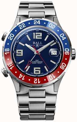 Ball Watch Company Roadmaster pilot gmt edizione limitata quadrante blu DG3038A-S2C-BE