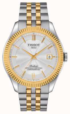 Tissot | ballata | powermatic 80 silicio | braccialetto bicolore | T1084082227801