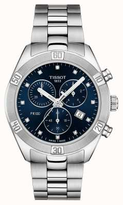 Tissot Cronografo sportivo chic da donna pr 100 T1019171104600