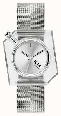 Klasse14 Bracciale K14 maglia milanese argento 40mm WKF20SR001M