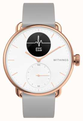 Withings Scanwatch 38mm smartwatch ibrido in oro rosa con ecg HWA09-MODEL 5-ALL-INT