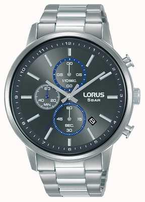 Lorus Cronografo al quarzo quadrante grigio sunray RM399GX9