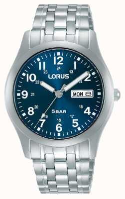 Lorus Orologio al quarzo classico 38 mm quadrante blu RXN77DX9