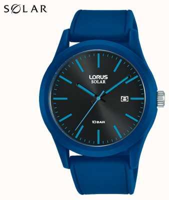 Lorus Cinturino in silicone blu 42 mm per orologio solare RX305AX9