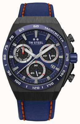 TW Steel Dettagli rossi dell'orologio Fast lane ceo tech in edizione limitata CE4072