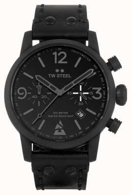 TW Steel Blast edizione speciale orologio nero monocromatico MS99