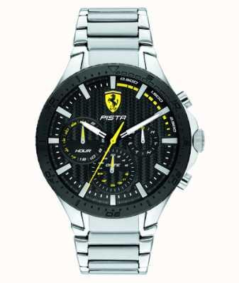 Scuderia Ferrari | pista dual track | quadrante nero strutturato | 0830854