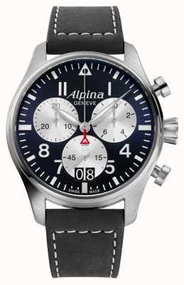 Alpina Cronografo al quarzo pilota Startimer AL-372NS4S6